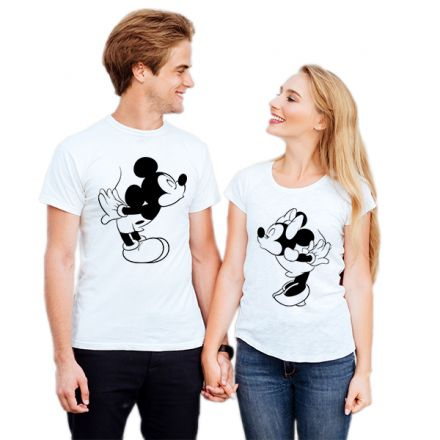 Camiseta Casal Mickey e Minnie CA0729