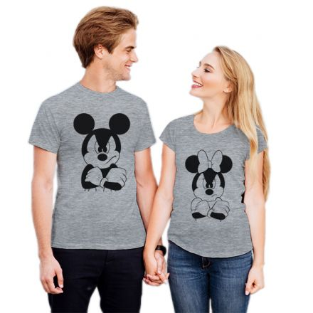 Camiseta Casal Mickey e Minnie CA0730