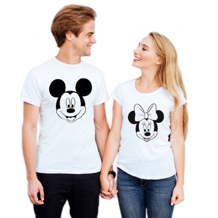 Camiseta Casal Mickey e Minnie CA0731