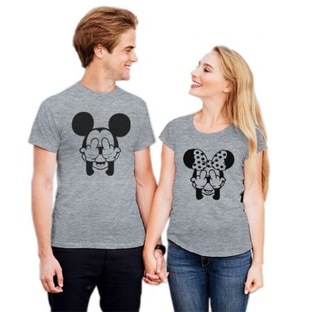 Camiseta Casal Mickey e Minnie CA0732