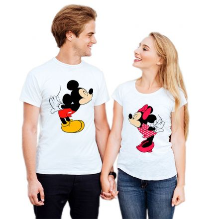 Camiseta Casal Mickey e Minnie CA0833