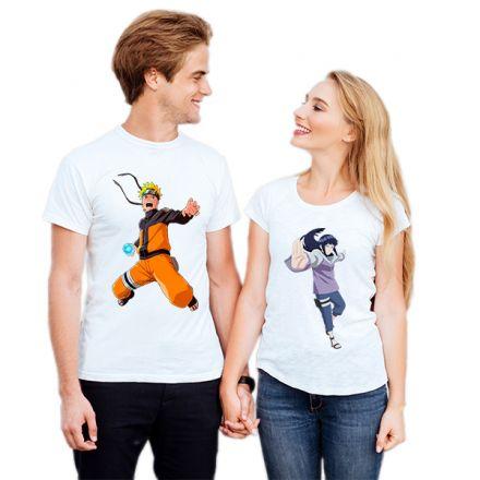Camiseta Casal Naruto e Hinata CA0725