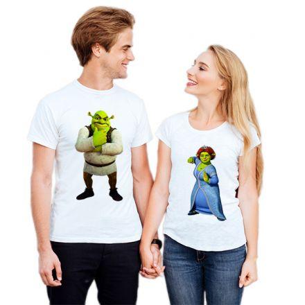 Camiseta Casal Shrek e Fiona CA0723