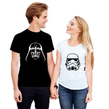 Camiseta Casal Star Wars CA0834