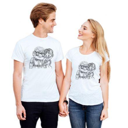 Camiseta Casal Up Altas Aventuras CA0720