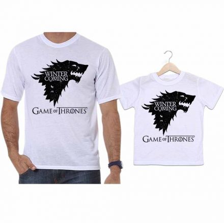 Camiseta e Body Tal Pai Tal Filha Game Of Thrones