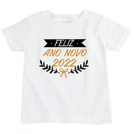 Camiseta Infantil Ano Novo CA0923