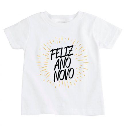 Camiseta Infantil Ano Novo CA0924
