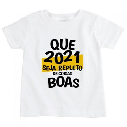 Camiseta Infantil Ano Novo CA0925