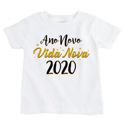 Camiseta Infantil Ano Novo CA0927