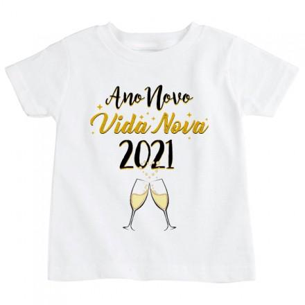 Camiseta Infantil Ano Novo CA0929