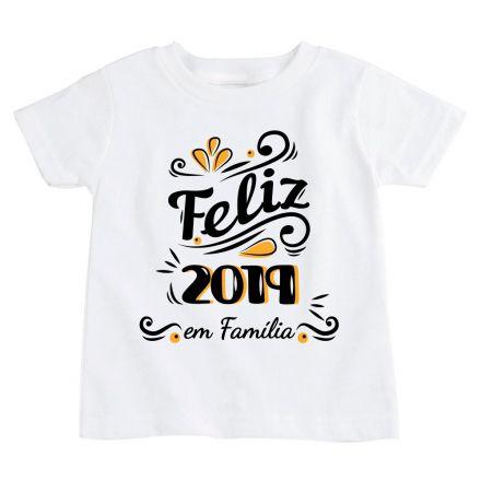 Camiseta Infantil Ano Novo FN0091
