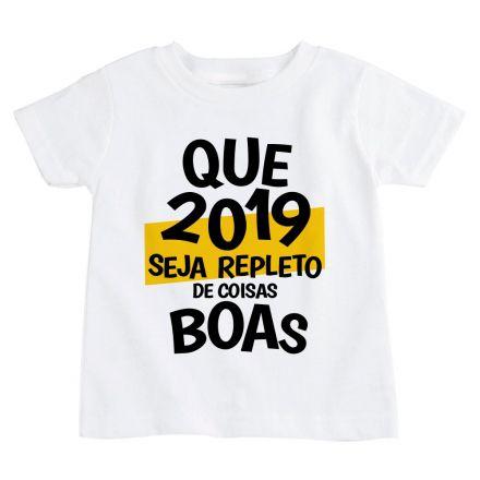 Camiseta Infantil Ano Novo FN0092