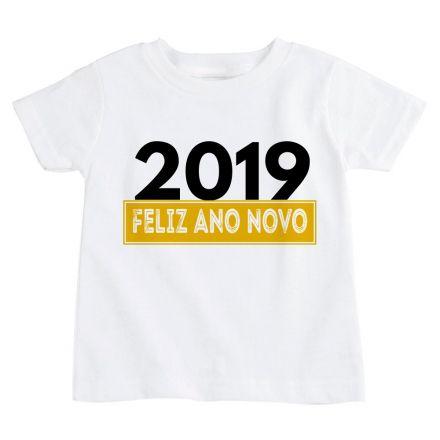 Camiseta Infantil Ano Novo FN0093