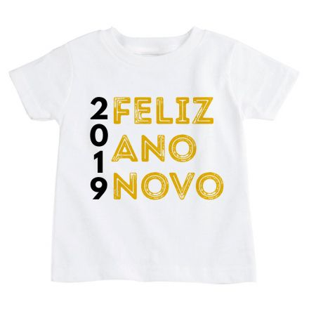 Camiseta Infantil Ano Novo FN0094
