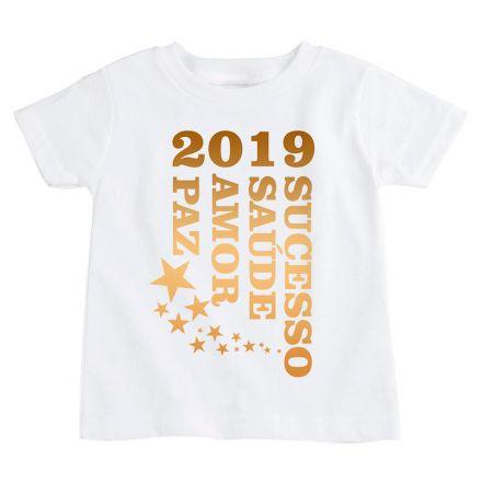 Camiseta Infantil Ano Novo FN0100