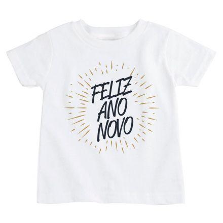 Camiseta Infantil Ano Novo FN0101