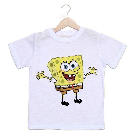 Camiseta Infantil Bob Esponja