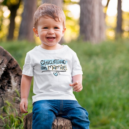 Camiseta Infantil Chicletinho da Mamãe - CA1210