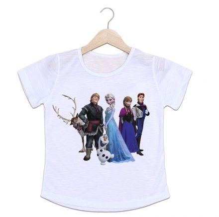 Camiseta Infantil Frozen