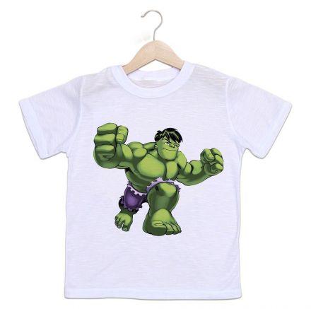 Camiseta Infantil Hulk Os Vingadores