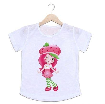 Camiseta Infantil Moranguinho