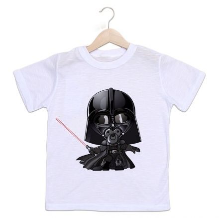 Camiseta Infantil Star Wars Darth Vader