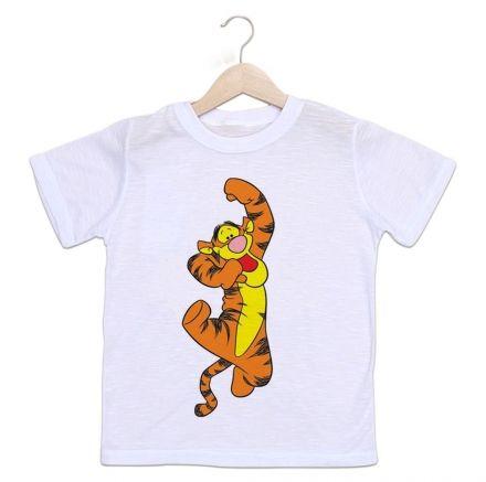 Camiseta Infantil Tigrão Ursinho Pooh