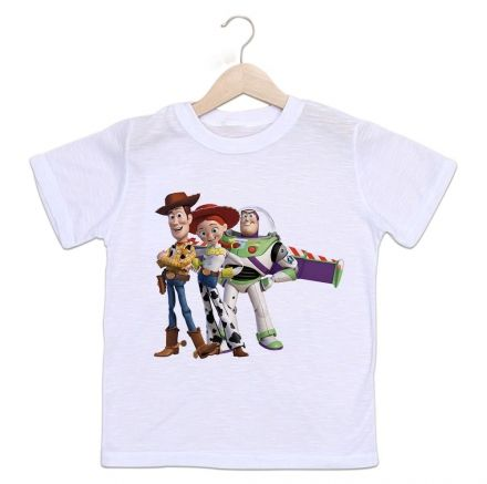 Camiseta Infantil Toy Story Divertida