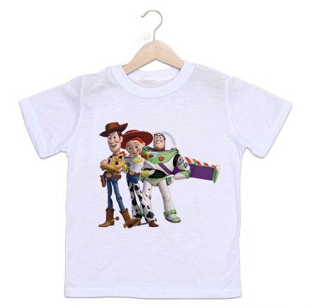 Camiseta Infantil Toy Story Divertida