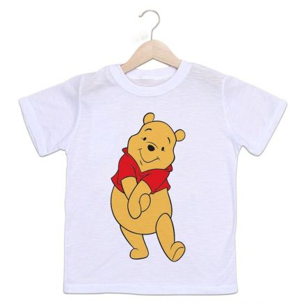 Camiseta Infantil Ursinho Pooh