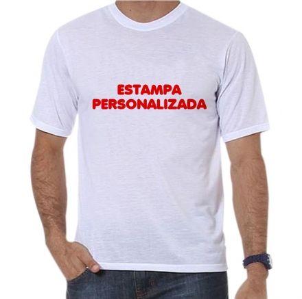Camiseta Masculina Personalizada Com A Sua Estampa