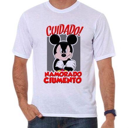 Camiseta Mickey Namorado Ciumento