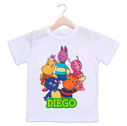 Camiseta Personalizada Infantil Backyardigans