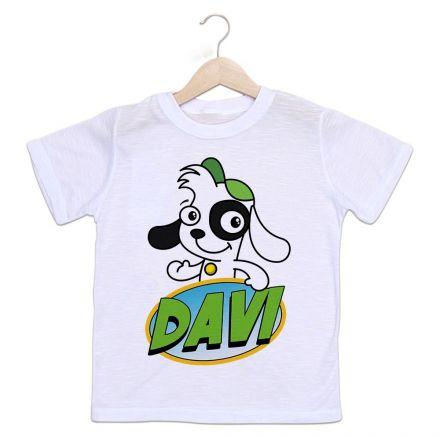 Camiseta Personalizada Infantil Doki