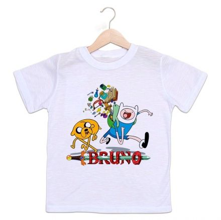 Camiseta Personalizada Infantil Hora de Aventura
