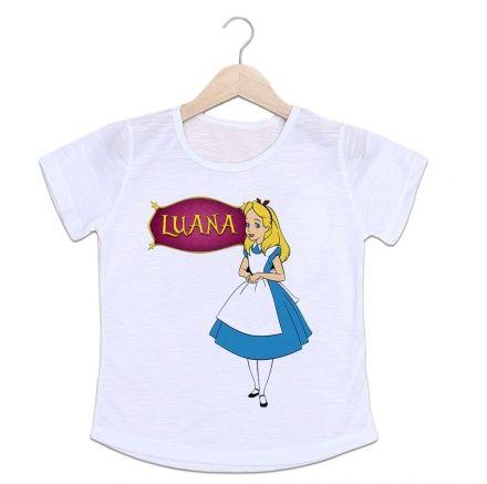 Camiseta Personalizada Infantil Princesa Alice