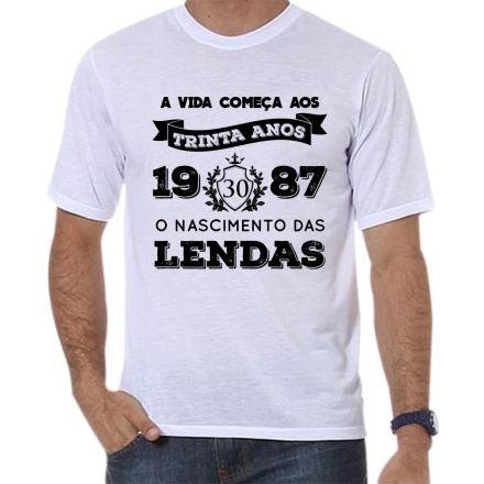 Camiseta Personalizada O Nascimento das Lendas