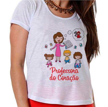 Camiseta Professora do Coração