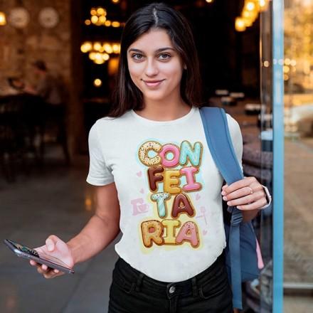 Camiseta Profissão Confeitaria - CA1146