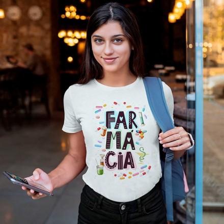 Camiseta Profissão Farmácia - CA1151