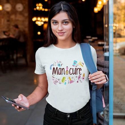 Camiseta Profissão Manicure - CA1153
