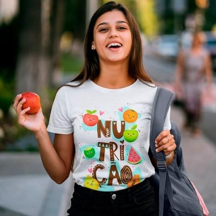 Camiseta Profissão Nutrição - CA1154