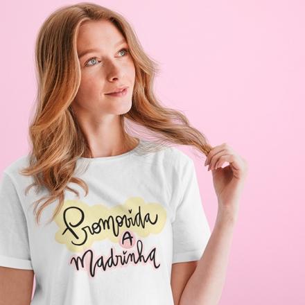 Camiseta Promovida a Madrinha - CA1251