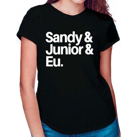 Camiseta Sandy e Junior CA0910