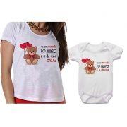 Camiseta Tal Mãe Tal Filho Body Melhor Mãe do Mundo é a do Meu Filho