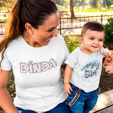 Camisetas Dinda e Afilhado - CA1231