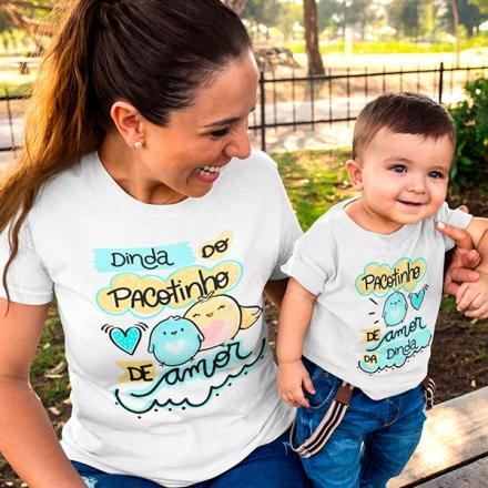 Camisetas Dinda e Afilhado - CA1232