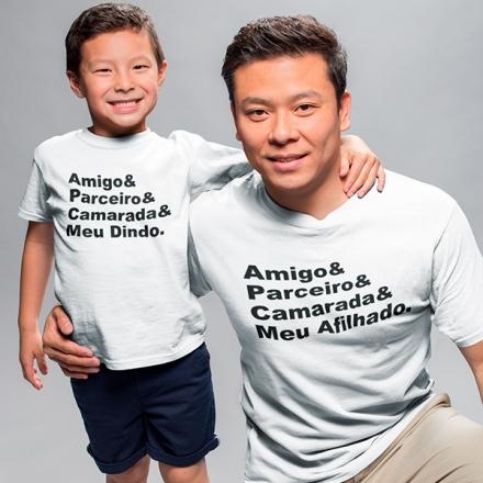 Camisetas Dindo e Afilhado - CA1238