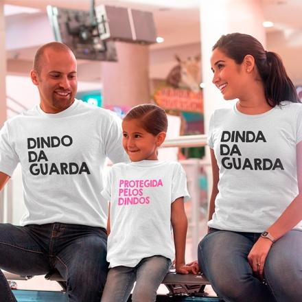 Camisetas Dindos e Afilhada - CA1241